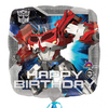 Anagram - 18 inch Square Foil Balloon - Transformers Happy Birthday