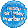 Oaktree - 18 inch Birthday Foil Balloon - Grandson