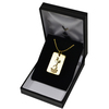 Tottenham Hotspur - Club Crest Gold Plated Dog Tag and Chain