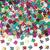 Amscan - Multicoloured Confetti - 50th Birthday Cover