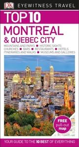 Eyewitness Top 10 Montreal & Quebec City - Dk Travel (Paperback) - Cover