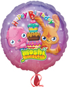 Anagram - 18 inch Circle Foil Balloon - Moshi Monsters Happy Birthday