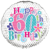 Simon Elvin - 18 inch Foil Balloon - 60th Birthday - Female