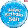 Oaktree - 18 inch Birthday Foil Balloon - Son