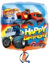 Anagram - 18 inch Square Foil Balloon - Blaze Happy Birthday
