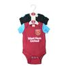 West Ham United - Club Crest Bodysuit 17/18 (3/6 Months)