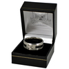 West Ham United - Club Crest Black Inlay Ring (Small)