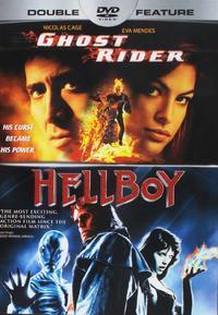 Ghost Rider / Hellboy (Region 1 DVD) - Cover