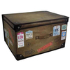 Kids Folding Storage Chest - Vintage