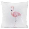 Lesser Pavey - Flamingo Sequin Cushion