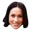 Meghan Markle - Cardboard Face Mask