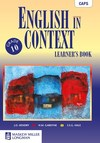English in Context: Grade 10: Learner's Book - J.O. Hendry (Paperback)
