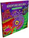 Dungeons & Dragons - Adventure Outlined Colouring Book