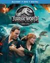 Jurassic World: Fallen Kingdom (Blu-Ray + DVD + Digital) (Region A Blu-ray)