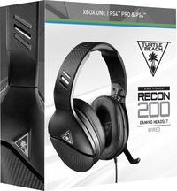 Turtle Beach - Recon 200 Wired Gaming Headset - Black (PS4/Xbox One)