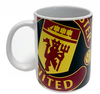 Manchester United - Halftone Mug Cover