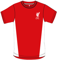 Liverpool - Red Crest Mens T-Shirt (XX-Large) - Cover
