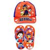 Paw Patrol - Cap And Slipper Gift Set (Kids Size 31/32)