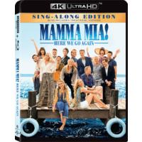 Mamma Mia: Here We Go Again (4K UHD + Blu-ray)