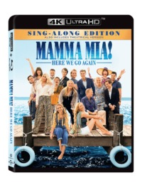 Mamma Mia: Here We Go Again (4K UHD + Blu-ray) - Cover