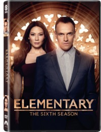 Elementary - Season 6 (DVD) - Cover