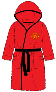 Manchester United - Kids Bath Robe (7-8 Years) - Cover