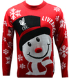 Liverpool - Novelty Christmas Jumper (X-Large)