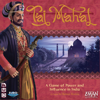 Taj Mahal (Board Game) - Cover