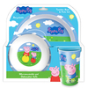 Peppa Pig - Peppa Pig And George Dinner Set (3 Piece Set) Cover