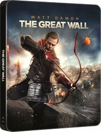 The Great Wall (3D & 2D Blu-ray) - Cover