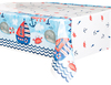 Unique Party - Nautical 1st Birthday Tablecover Cover