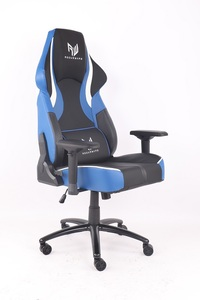 RogueWare Rally Series Black/Blue Gaming Chair - Cover