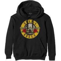 Guns n' Roses Classic Logo Men's Black Hoodie (Small) - Cover