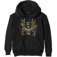 Guns n' Roses Top Hat Men's Black Hoodie (Small) - Cover