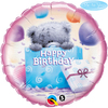 Qualatex - 18 inch Round Foil Balloon - Me to You - Tatty Teddy Birthday Present