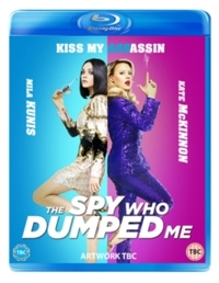 Spy Who Dumped Me (Blu-ray) - Cover