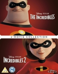 Incredibles: 2-movie Collection (Blu-ray) - Cover