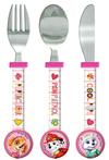 Paw Patrol - Girls Cutlery Set (3 Piece set)