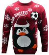 West Ham United F.C. - Novelty Christmas Jumper - Official (Large)