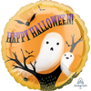 Anagram - 18 inch Circle Foil Balloon - Halloween Spooky Ghosts