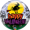 Qualatex - 22 inch Bubble Balloon - Halloween Witch Haunting