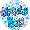 Expression Factory - Birthday Boy Badge (Giant)