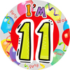 Expression Factory - Age 11 - Unisex - Badge (Giant)