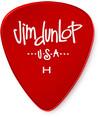 Dunlop 486PHV Gels Heavy Guitar Pick (Red)