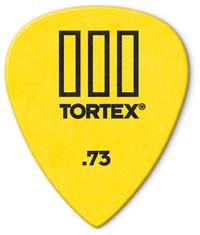 Dunlop 462P Tortex TIII 0.73mm Guitar Pick (Yellow) - Cover