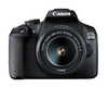 Canon - 2000D BK 18-55 IS + SB130 +16GB EU26 Digital Camera (Starter Kit)