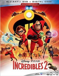 Incredibles 2 (Region A Blu-ray) - Cover