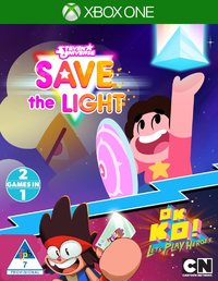Steven Universe: Save the Light & OK K.O.! Let's Play Heroes (Xbox One) - Cover