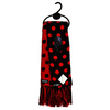 Scarf - Red/Black Dots (Reversible)