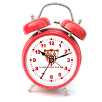 Sevilla Madrid - Club Crest Bell Alarm Clock - Cover